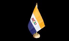 Tischflagge Südafrika alt - 15 x 22 cm