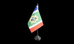 Tischflagge Südafrika Stadt Johannesburg - 10 x 15 cm