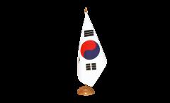 Tischflagge Südkorea - 10 x 15 cm