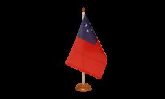 Tischflagge Samoa - 15 x 22 cm