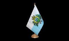Tischflagge San Marino - 15 x 22 cm