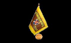 Tischflagge Schottland Scotland The Brave