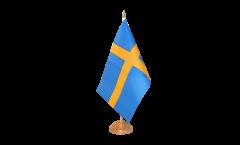Tischflagge Schweden - 15 x 22 cm