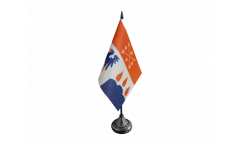 Tischflagge Schweden Provinz Örebro län