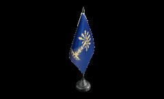 Tischflagge Schweden Provinz Blekinge län