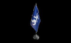 Tischflagge Schweden Provinz Hallands län
