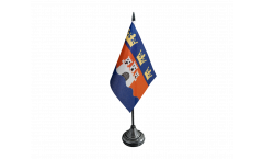 Tischflagge Schweden Provinz Jönköpings län