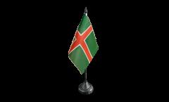 Tischflagge Schweden Smaland Inoffiziell - 10 x 15 cm
