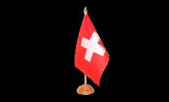 Tischflagge Schweiz - 10 x 15 cm