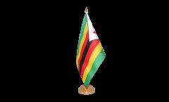Tischflagge Simbabwe - 15 x 22 cm