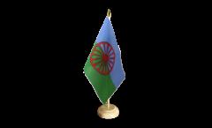 Tischflagge Sinti und Roma - 15 x 22 cm