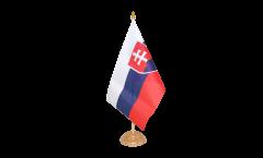 Tischflagge Slowakei - 10 x 15 cm