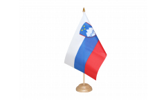 Tischflagge Slowenien - 15 x 22 cm