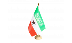 Tischflagge Somaliland - 15 x 22 cm