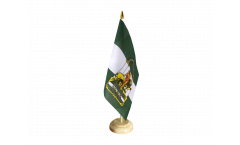 Tischflagge Spanien Andalusien - 10 x 15 cm