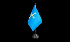 Tischflagge Spanien Asturien