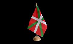 Tischflagge Spanien Baskenland - 15 x 22 cm