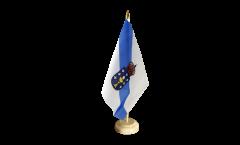 Tischflagge Spanien Galicien - 10 x 15 cm