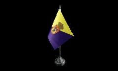 Tischflagge Spanien Gran Canaria - 10 x 15 cm