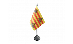 Tischflagge Spanien Ibiza