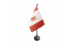 Tischflagge Spanien La Gomera - 10 x 15 cm