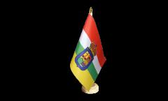 Tischflagge Spanien La Rioja - 10 x 15 cm
