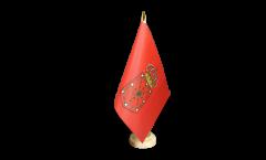 Tischflagge Spanien Navarra - 10 x 15 cm