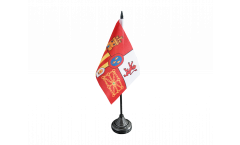 Tischflagge Spanien Royal - 10 x 15 cm