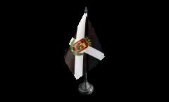 Tischflagge Spanien Teneriffa - 10 x 15 cm