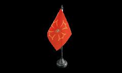 Tischflagge Spanien Val d'Aran