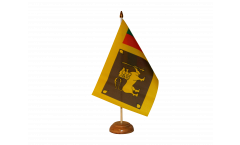 Tischflagge Sri Lanka - 15 x 22 cm