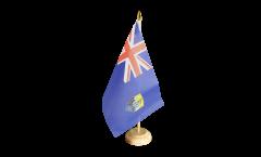 Tischflagge St. Helena - 15 x 22 cm