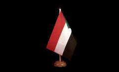 Tischflagge Sudan - 15 x 22 cm