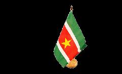 Tischflagge Surinam - 15 x 22 cm