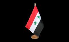 Tischflagge Syrien - 15 x 22 cm