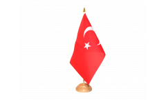 Tischflagge Türkei - 10 x 15 cm