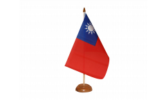 Tischflagge Taiwan - 15 x 22 cm