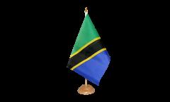 Tischflagge Tansania - 15 x 22 cm