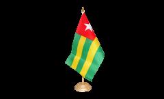 Tischflagge Togo - 15 x 22 cm