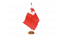 Tischflagge Tonga - 15 x 22 cm