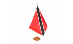 Tischflagge Trinidad und Tobago - 15 x 22 cm
