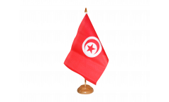 Tischflagge Tunesien - 10 x 15 cm