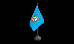 Tischflagge Tunesien Stadt Tunis - 10 x 15 cm