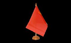 Tischflagge UDSSR Sowjetunion - 15 x 22 cm