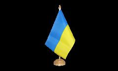 Tischflagge Ukraine - 15 x 22 cm