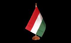 Tischflagge Ungarn - 10 x 15 cm