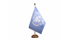 Tischflagge UNO - 15 x 22 cm