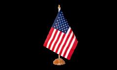 Tischflagge USA - 10 x 15 cm