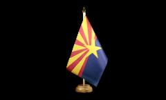 Tischflagge USA Arizona - 15 x 22 cm