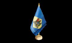 Tischflagge USA Delaware
